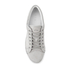 ETQ. Men's Low Top 1 Leather Trainers - Alloy: Image 3