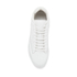 ETQ. Men's Mid Top 2 Leather Sneakers - White : Image 3