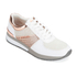 MICHAEL MICHAEL KORS Women's Allie Leather Trainers - White & Rose Gold: Image 2