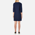 A.P.C. Women's Babba Round Neck Dress - Navy: Image 3
