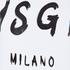 MSGM Women's Logo T-Shirt - White: Image 5