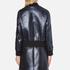 MSGM Women's Metallic Tweed Bomber Jacket - Blue: Image 3