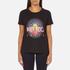 KENZO Women's Tenamie Flower Logo T-Shirt - Black: Image 1