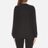 KENZO Women's Contrast Side Stripe Tiger Sweatshirt - Black: Image 3