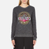 KENZO Women's Tenamie Flower Sweatshirt - Dark Grey: Image 1
