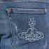 Vivienne Westwood Anglomania Men's Drainpipe Jeans - Blue Denim: Image 7
