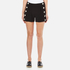 Boutique Moschino Women's Button Shorts - Black: Image 1