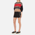 Boutique Moschino Women's Button Shorts - Black: Image 4