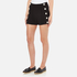 Boutique Moschino Women's Button Shorts - Black: Image 2