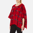 Boutique Moschino Women's Cape Jumper - Red: Image 2
