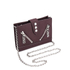 KENZO Women's Kalifornia Wallet on a Chain Crossbody Bag - Bordeaux: Image 3