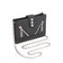 KENZO Women's Kalifornia Wallet on a Chain Crossbody Bag - Black: Image 3