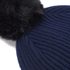 Paul Smith Accessories Women's Cashmere Beanie - Navy: Image 3