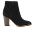 Sam Edelman Women's Blake Suede Heeled Ankle Boots - Black: Image 1