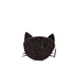 Lulu Guinness Women's Kooky Cat Glitter Coin Purse - Black: Image 5