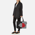 Lulu Guinness Women's Larysa 50:50 Lips Large Stripe Tote Bag - Black/White/Red: Image 8