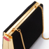 Lulu Guinness Women's Karlie Velvet Clutch with Lip Closure - Black: Image 4