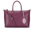 Lulu Guinness Women's Frances Medium Tote Bag with Lip Charm - Cassis: Image 1