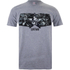 Marvel Men's Captain America Civil War Stars & Stripes T-Shirt - Sport Grey: Image 1