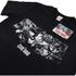Marvel Herren Captain America Civil War Sternen & Streifen T-Shirt - Schwarz: Image 2