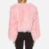 Charlotte Simone Women's Classic Fuzz Jacket - Pink - S/M: Image 3