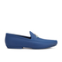 Vivienne Westwood MAN Men's Orb Enamelled Moccasin - Sapphire Blue: Image 1