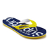 Superdry Men's Flip Flops - Superman Navy/Empire Yellow: Image 2
