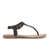 Superdry Women's Bondi Thong Sandals - Black: Image 1