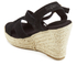 Superdry Women's Isabella Wedged Espadrilles - Black: Image 4