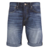 Jack & Jones Men's Rick Original Denim Shorts - Mid Wash: Image 1