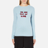 Bella Freud Women's In and Out of Love Merino Jumper - Pale Blue: Image 1