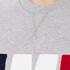 AMI Men's AMI Logo Crew Neck Sweatshirt - Heather Grey: Image 5