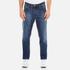 AMI Men's Carrot Fit Jeans - Blue: Image 1