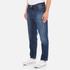 AMI Men's Carrot Fit Jeans - Blue: Image 2