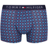 Tommy Hilfiger Men's 3 Pack Icon Trunk Boxer Shorts - Alloy/Samba/Brilliant Blue: Image 2