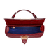 Aspinal of London Women's Letterbox Croc Saddle Bag - Bordeaux: Image 4