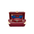 Aspinal of London Women's Mini Croc Trunk - Bordeaux: Image 4