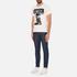 Barbour X Steve McQueen Men's Camber T-Shirt - Cream: Image 4