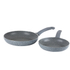 Russell Hobbs Stone Collection 20 and 24cm Frying Pan Set Daybreak: Image 1