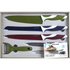 Salter Colour Collection 6 Piece Knife Set: Image 2