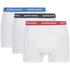 Bjorn Borg Men's Contrast Solids Boxer Shorts - White: Image 1