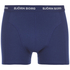 Bjorn Borg Men's Solids Boxer Shorts - Blue Depths: Image 5