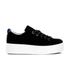 KENZO Women's K-Lace Platform Low Top Trainers - Black: Image 1