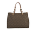 MICHAEL MICHAEL KORS Cynthia Medium Satchel - Brown: Image 6