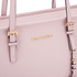 MICHAEL MICHAEL KORS Jet Set Travel Top Zip Tote Bag - Pink: Image 4