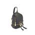 MICHAEL MICHAEL KORS Rhea Zip Small Crossbody Backpack - Black: Image 3