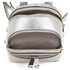 MICHAEL MICHAEL KORS Rhea Zip Small Crossbody Backpack - Silver: Image 5