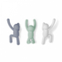 Umbra Buddy Wall Coat Hooks - Multi (Set of 3): Image 1