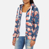 Superdry Women's Orange Label All Over Print Primary Zip Hoody - Baroque Roses Blue: Image 2