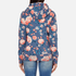 Superdry Women's Orange Label All Over Print Primary Zip Hoody - Baroque Roses Blue: Image 3